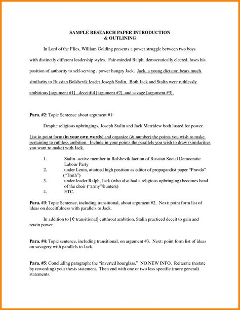 introduction  research paper introduction letter