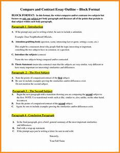 6+ writing a comparison contrast essay | agenda example