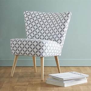 Fauteuil Suspendu Maison Du Monde : d co salon fauteuil imprim vintage scandinave maisons ~ Premium-room.com Idées de Décoration