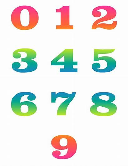 Clipart Numbers Cartoon Number Clipartmag