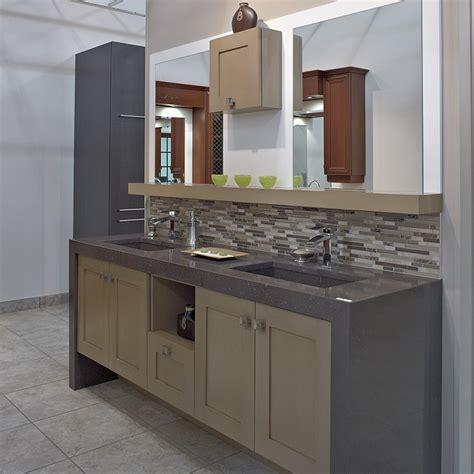cuisines beauregard salle de bain realisation  vanite de salle de bain contemporaine en