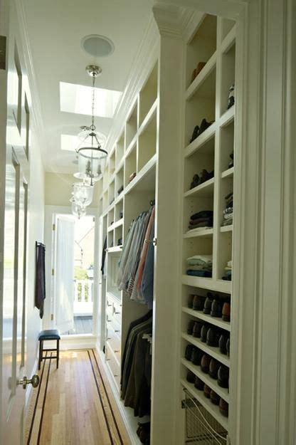 Narrow Walk In Closet by Best 25 Narrow Closet Ideas On