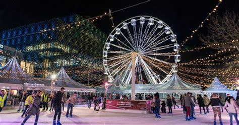 ice rink  big wheel coming   birmingham