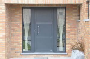 Renforcer Porte D Entrée : porte d 39 entr e pvc ou porte alu en neuve ou r novation ~ Premium-room.com Idées de Décoration