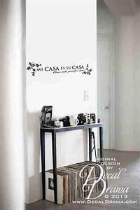 Mi Casa Is Su Casa : mi casa es su casa please make yourself at home vinilo decorativo on storenvy ~ Eleganceandgraceweddings.com Haus und Dekorationen