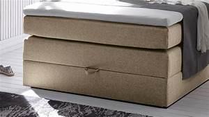 Boxspringbett 120 Cm Breit Mit Bettkasten : boxspringbett new bedford 1 in stoff beige federkern bettkasten 120 cm ~ Indierocktalk.com Haus und Dekorationen