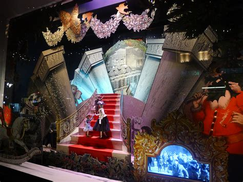 …visited The Christmas Window Displays  Today's The Day I