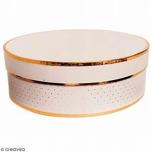 Boite Cadeau Ronde : bo te cadeau ronde couvercle rose bords dor s 30 x ~ Teatrodelosmanantiales.com Idées de Décoration