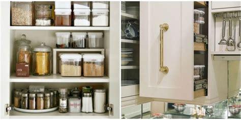 organize kitchen cabinets storage tips ideas
