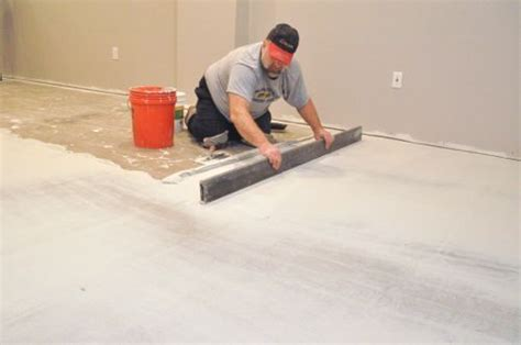 level  subfloor  laying tile house tiles