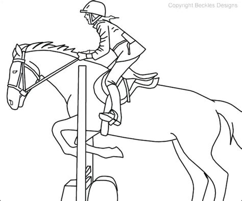 horse jumping drawing  getdrawings