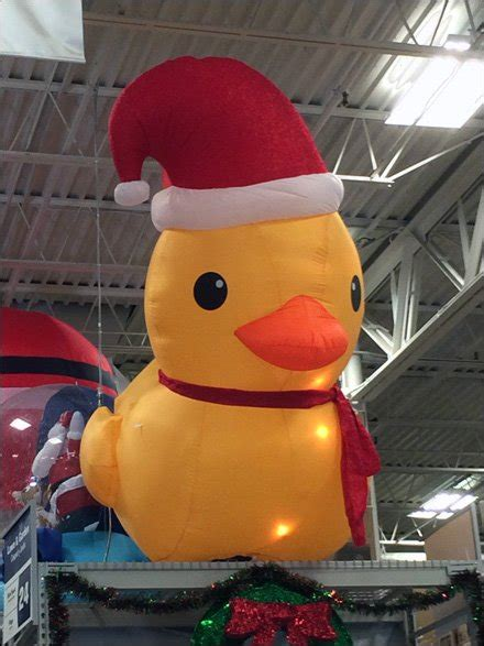 christmas   ducky inflatable fixtures close