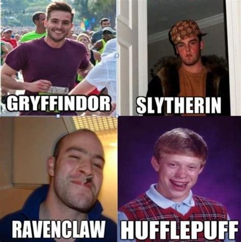 Ravenclaw Memes - harry potter meme gryffindor slytherin posts ravenclaw and slytherin