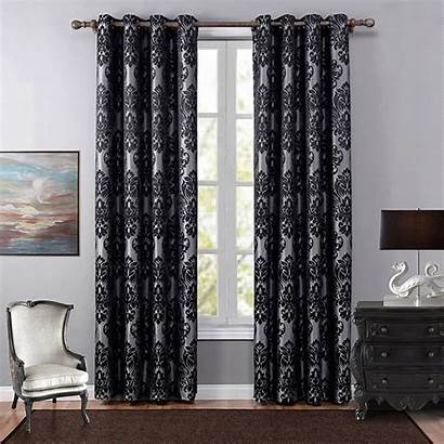 Curtains Living Curtain Bedroom Luxury Floral Sheer