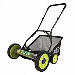 Scotts Scott U0026 39 S 16 In  Manual Walk Behind Push Reel Lawn