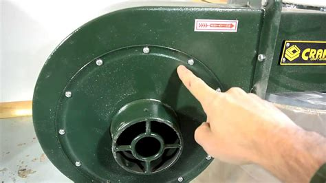 harbor freight barrel fan cheap dust collector review youtube
