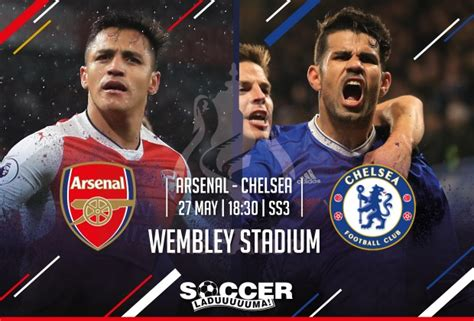 FA Cup Final Starting XI: Arsenal v Chelsea 27 May 2017
