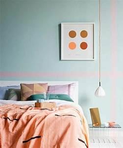 revgercom chambre interieur bleu idee inspirante pour With couleur beige peinture murale 0 la couleur saumon les tendances chez les couleurs d