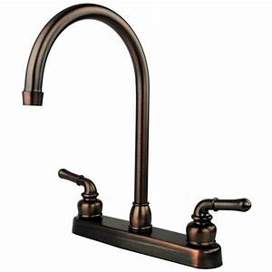 Oil Rubbed Bronze Rv Mobile Motor Home Kitchen Sink Faucet
