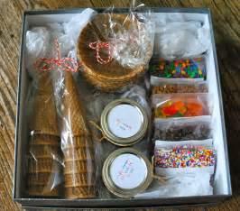 a pinterest christmas diy ice cream sundae kit the gilbertson family
