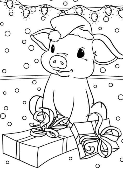 Free & Easy To Print Pig Coloring Pages Tulamama