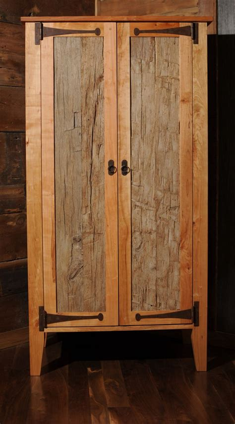 Armoires And Wardrobe Closets by Reclaimed Wood Armoire Wardrobe Closet Etsy Dwell On
