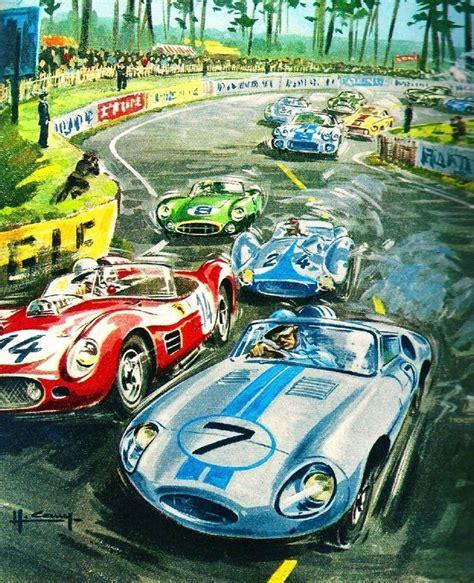 24 Hours Le Mans France Automobile Race Car