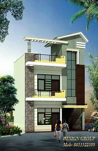 16 Feet Front Elevation - House Floor Plans