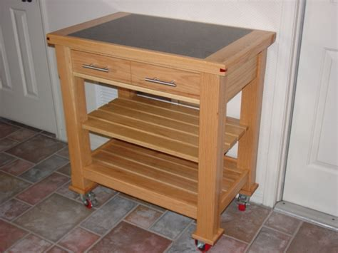 kitchen work table finewoodworking
