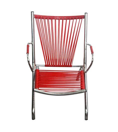 fauteuil enfant en fil de scoubidou 60 s 70 s vente en ligne