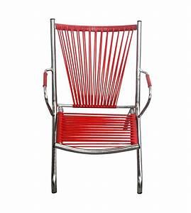 Fauteuil Fil Scoubidou : fauteuil enfant en fil de scoubidou 60 39 s 70 39 s vente en ligne ~ Teatrodelosmanantiales.com Idées de Décoration