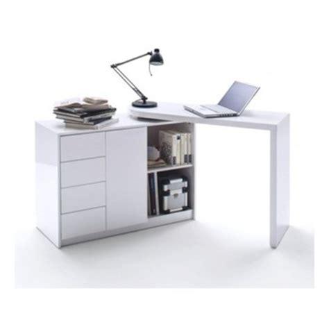 bureau amovible bureau blanc design pivotant dans bureau d 39 adulte achetez