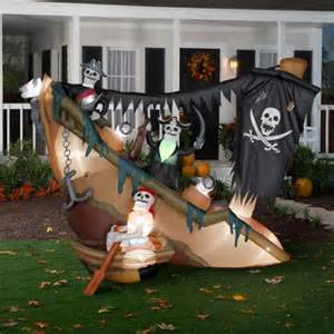 halloween airblown inflatable animated skeleton pi