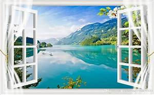 Photo Any Size 3d Stereo Outside Wall View Tv Wall ...