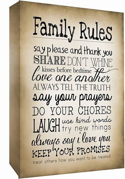 Canvas Wall Rules Quote Sizes Sepia Quotes