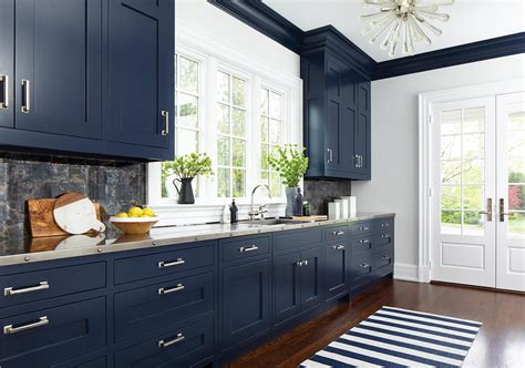 blue kitchens youre   love serendipity