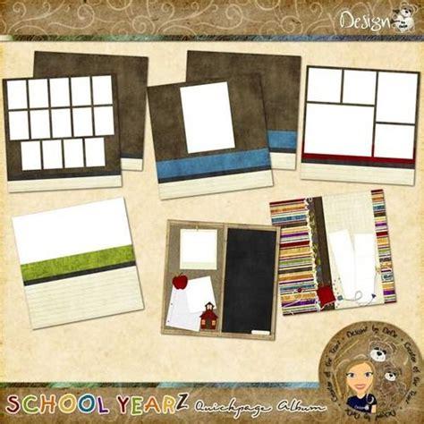school yearz quickpage album  images digital