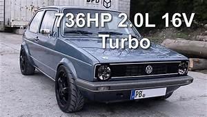 Golf 1 Turbo : vw golf mk1 736hp 2 0l 16v turbo street race youtube ~ Kayakingforconservation.com Haus und Dekorationen