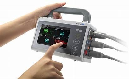 Transport Monitor Edan Im20 Patient Ecg Multiparametrico