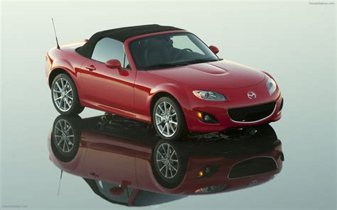 2009 Mazda Mx 5 Widescreen Exotic Car Picture 01 Of 34