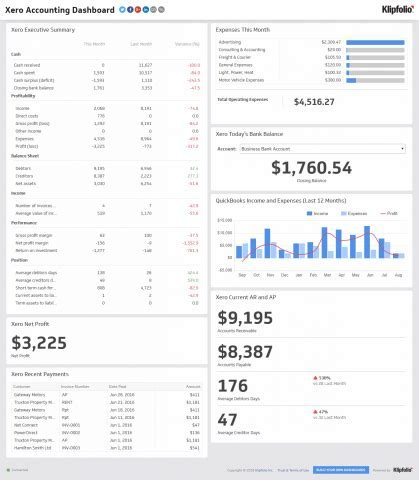 Executive Dashboards Reports for the Modern CEO