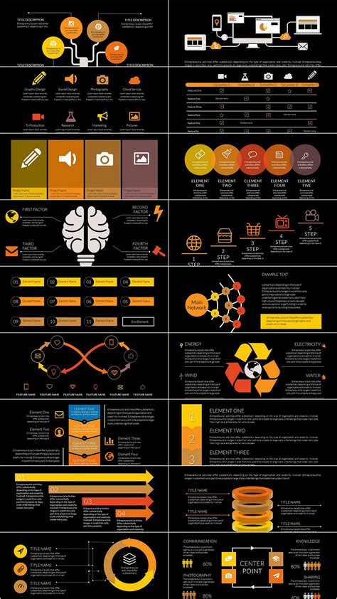 Social Network Tree PowerPoint charts Templates ...
