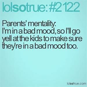 Funny Bad Paren... Crappy Parenting Quotes