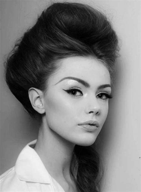 Popular Hairstyles In The 60s by 1960s Hairstyles For Popular Looks Stylezco