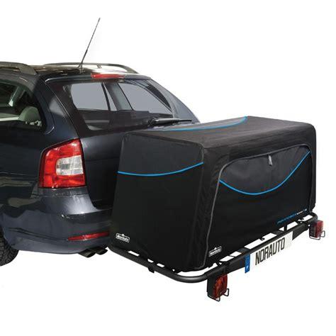 coffre sur crochet d attelage moving box 500 l norauto pour moving base norauto fr