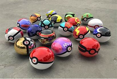 Pokeball Ball Wallpapers Pokemon Cool Pokeballs 3d