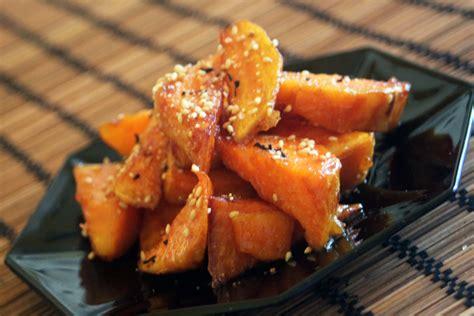 go 251 ter cor 233 en les patates douces frites au miel kimshii