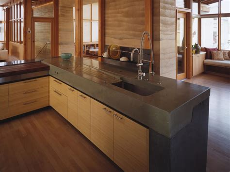 Stone Backsplash Ideas For Kitchen - concrete kitchen countertop kitchen designs choose kitchen layouts remodeling materials hgtv