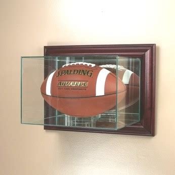 glass football display cases  holders