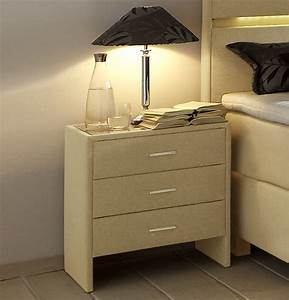 Höhe Nachttisch Boxspringbett : breite nachtkonsole mit webstoff bezogen vincenzo komfort ~ Indierocktalk.com Haus und Dekorationen